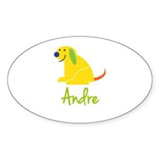 Andre Loves Puppies Decal