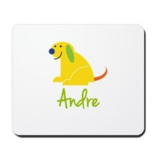 Andre Loves Puppies Mousepad