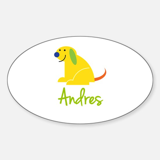 Andres Loves Puppies Decal