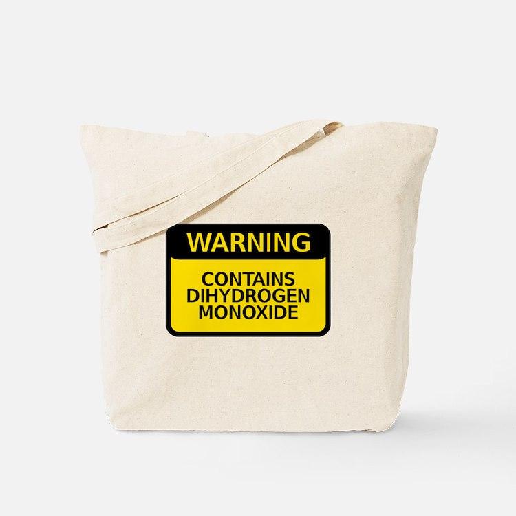 dihydrogen monoxide Tote Bag