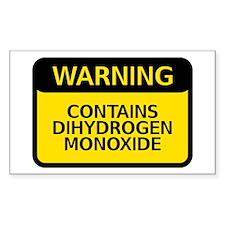 dihydrogen monoxide Decal