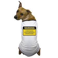 dihydrogen monoxide Dog T-Shirt