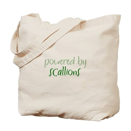 Powered By scallions Tote Bag