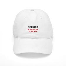 Retired Baseball Baseball Cap