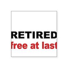 Retired Sticker