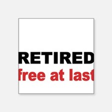 Retired Sticker