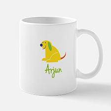 Arjun Loves Puppies Mug