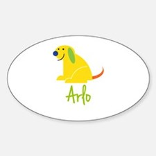 Arlo Loves Puppies Decal