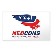 Neocon Chickenhawks Decal