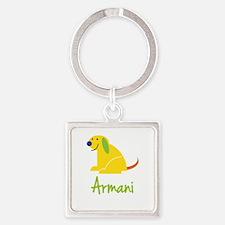 Armani Loves Puppies Keychains