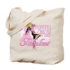 Fabulously Fighting Cancer Tote Bag