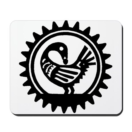 Sankofa Bird Mousepad