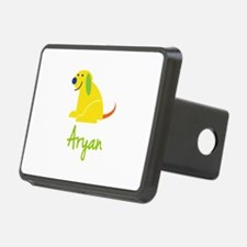 Aryan Loves Puppies Hitch Cover