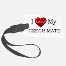 Czech mate Luggage Tag