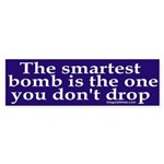 The Smartest Bomb Bumper Sticker