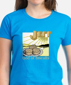 Jeff, God of Biscuits Tee