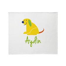 Aydin Loves Puppies Throw Blanket