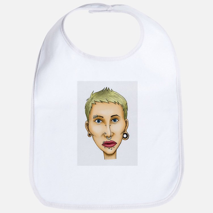 Bad body piercing Bib