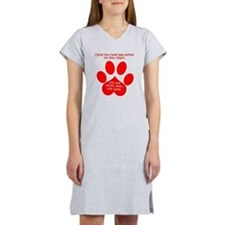 Paw Prints Women's Nightshirt