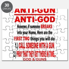 GOD and GUNS Puzzle