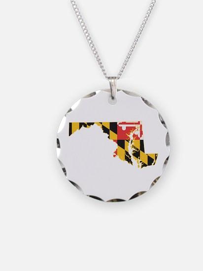 Maryland Flag Necklace