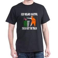keep ireland beautiful throw T-Shirt