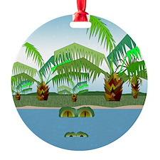 Big Croc Ornament