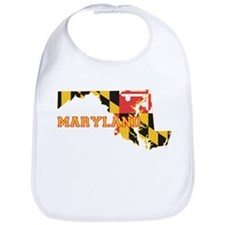 Maryland Flag Bib