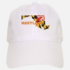Maryland Flag Baseball Baseball Cap