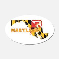 Maryland Flag Wall Decal