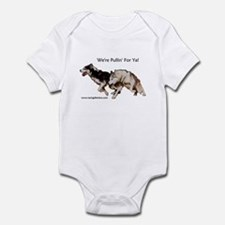 We're Pullin' For Ya! Infant Bodysuit