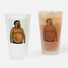 Ganster NOT! Drinking Glass