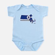 Massachusetts Flag Infant Bodysuit