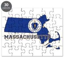 Massachusetts Flag Puzzle