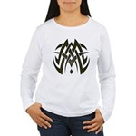 Tribal Woven Blades Women's Long Sleeve T-Shirt