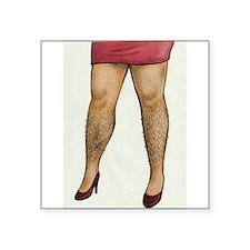 Monique Hairy Legs Sticker