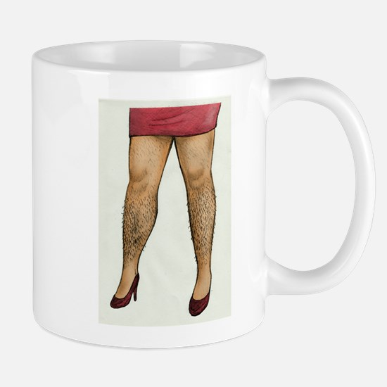 Monique Hairy Legs Mug