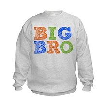 Sketch Style Big Bro Sweatshirt