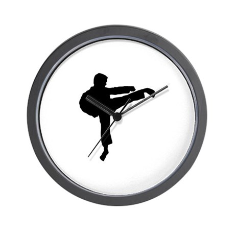karate mixed martial arts kung fu silhouette wa by winningsportsgear. Black Bedroom Furniture Sets. Home Design Ideas