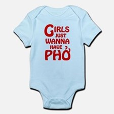 Girls Just Wanna Have Pho Body Suit