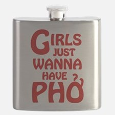 Girls Just Wanna Have Pho Flask
