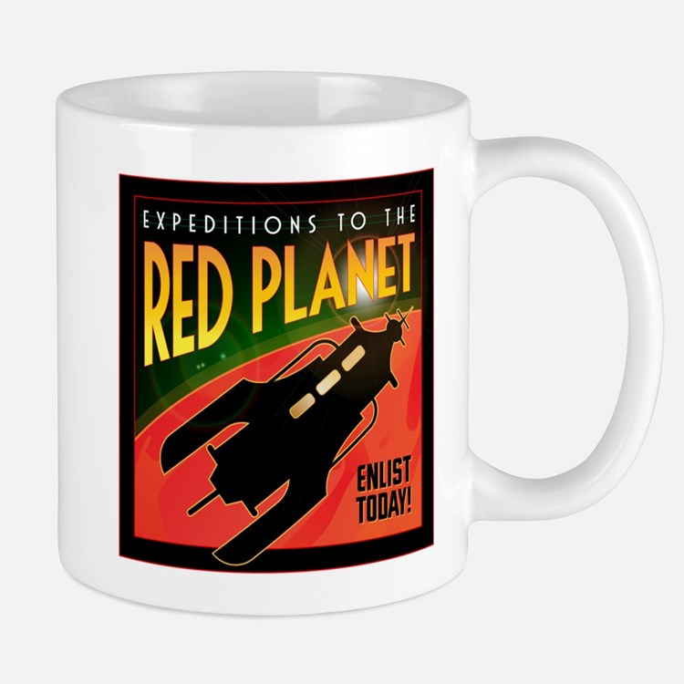 Red Planet Mug