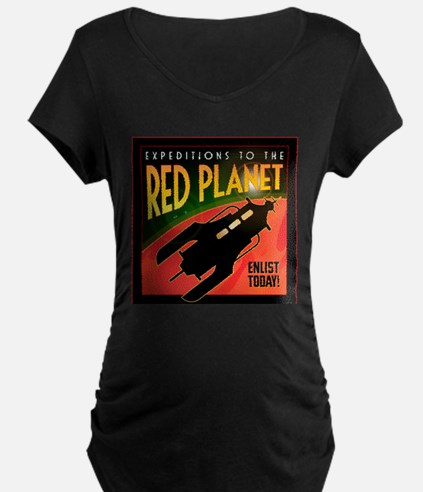 Red Planet Maternity T-Shirt