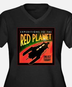 Red Planet Plus Size T-Shirt