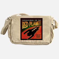 Red Planet Messenger Bag