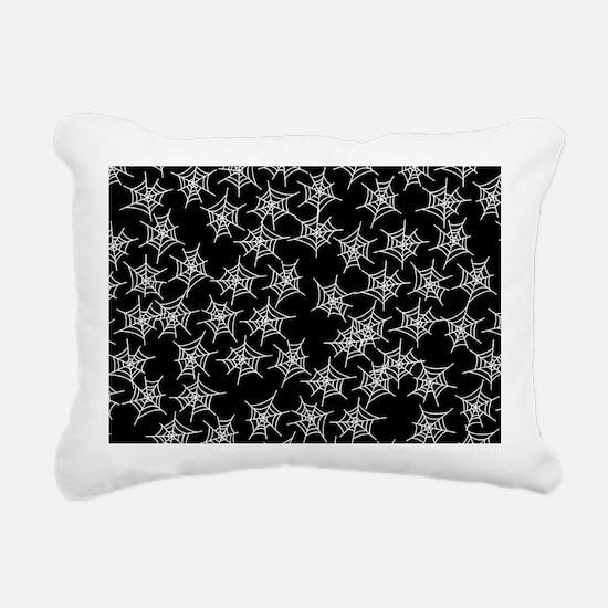 Spider Webs Rectangular Canvas Pillow