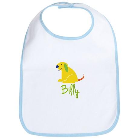 Billy Loves Puppies Bib