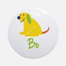 Bo Loves Puppies Ornament (Round)