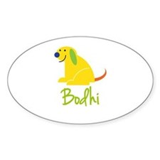Bodhi Loves Puppies Stickers