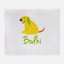 Bodhi Loves Puppies Throw Blanket